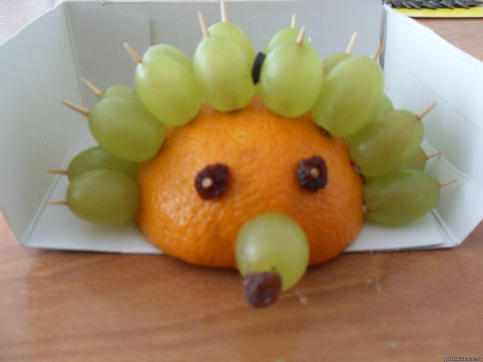 Фото поделок из фруктов